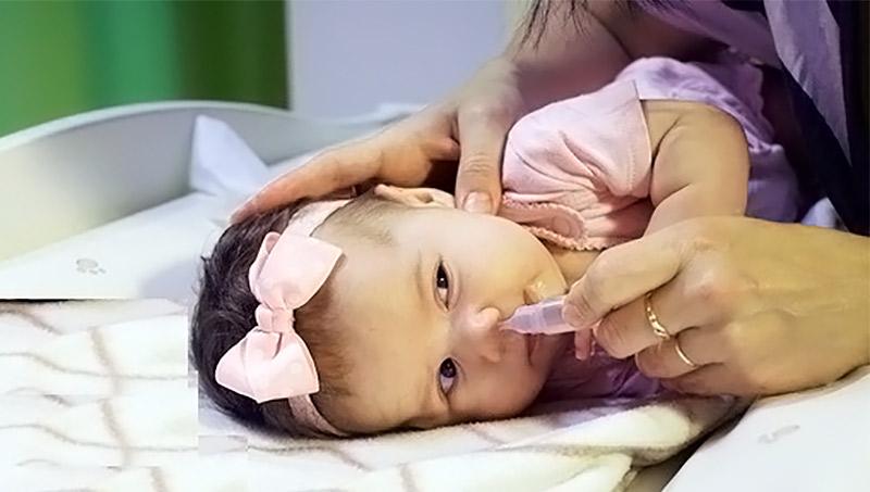 Каждая мама должна знать, как промывать нос ребенку