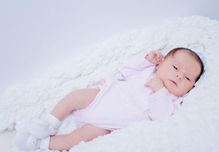 В 2 месяца малыш быстро растет