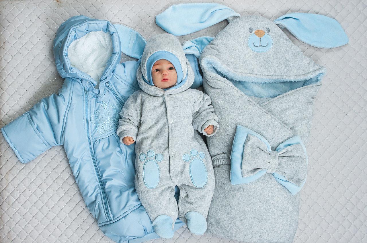 Пример одежды на выписку зимой