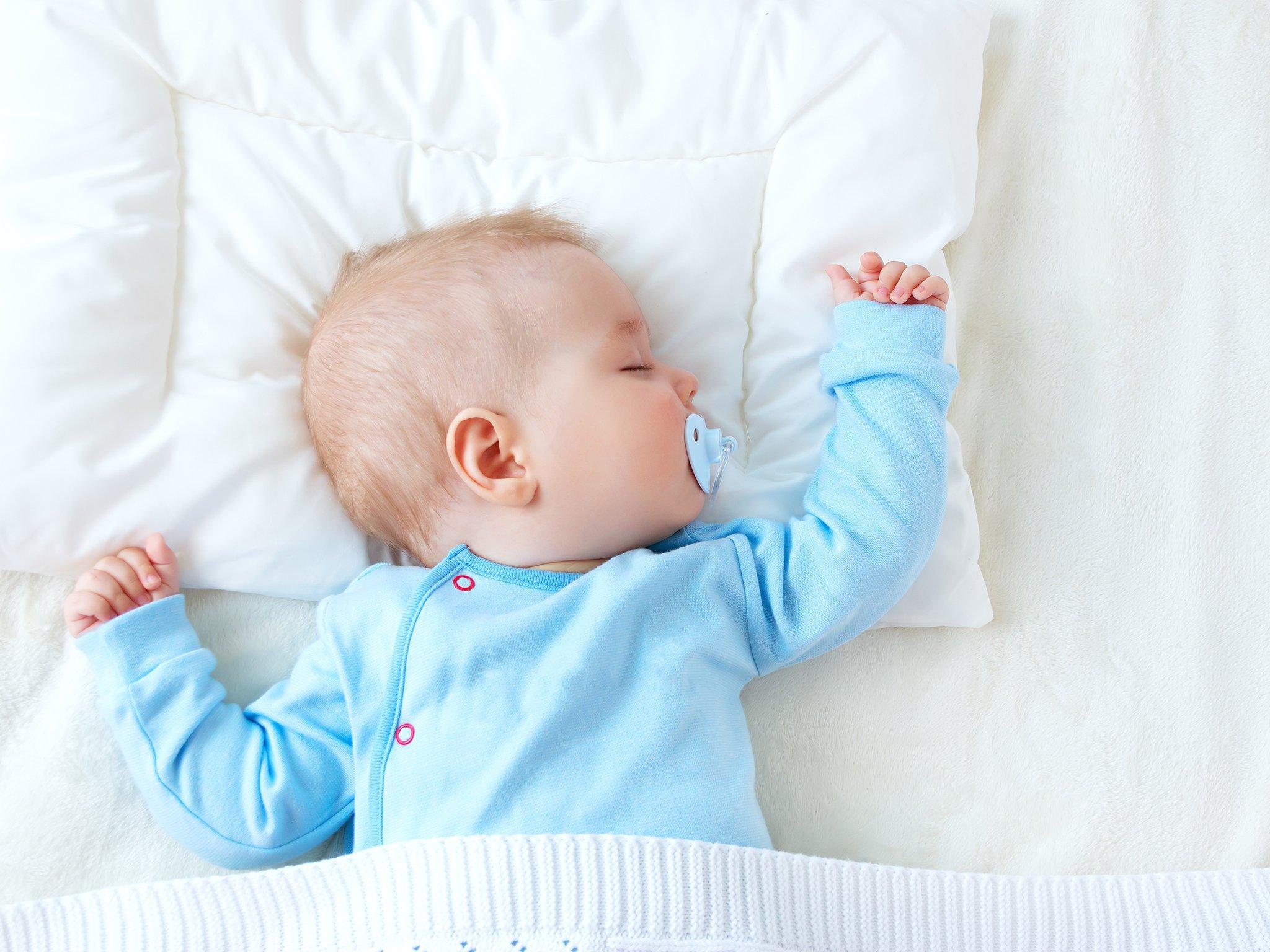 Малыш должен хорошо высыпаться, чтобы активно познавать окружающий мир