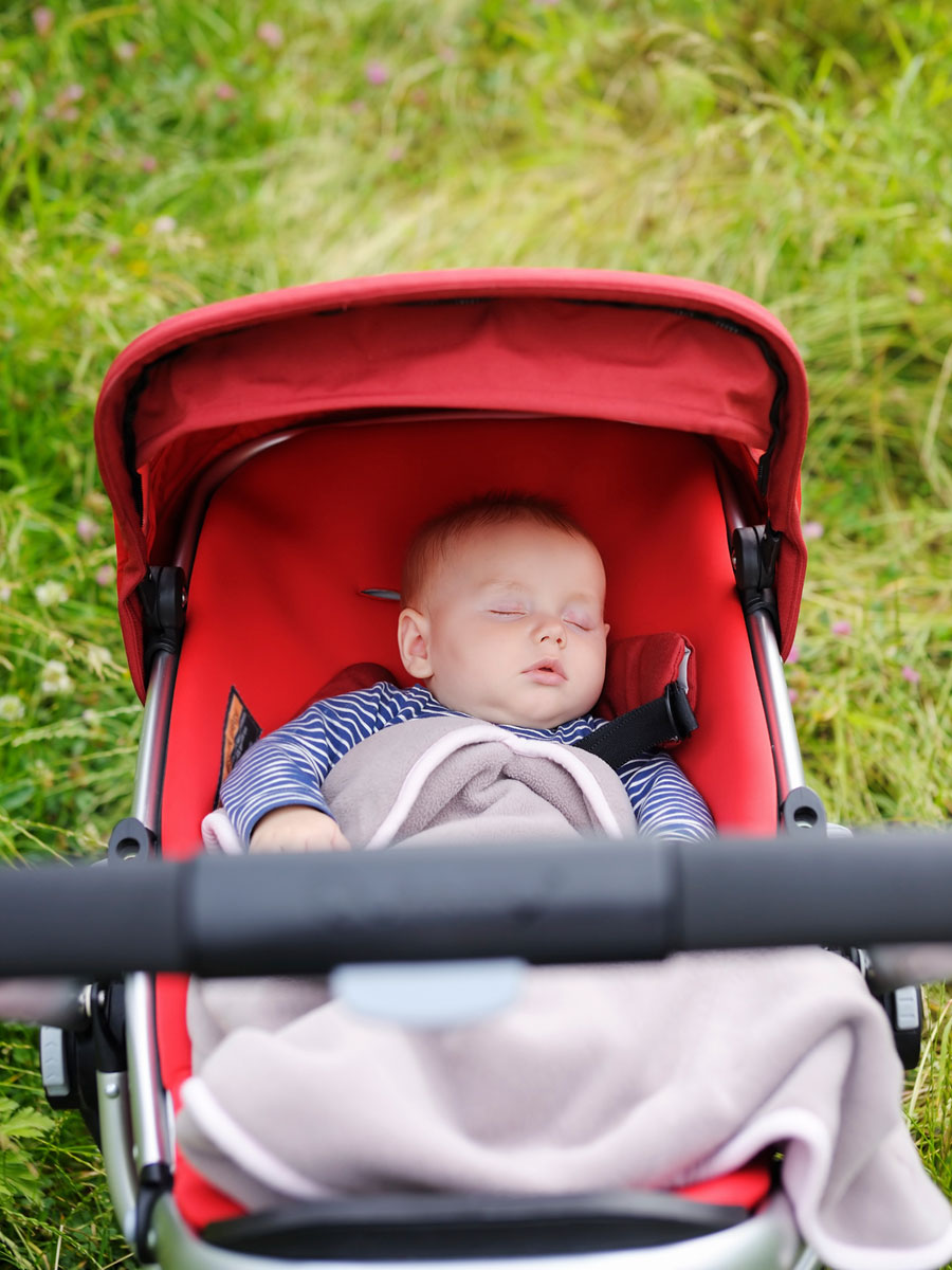 Сон в коляске