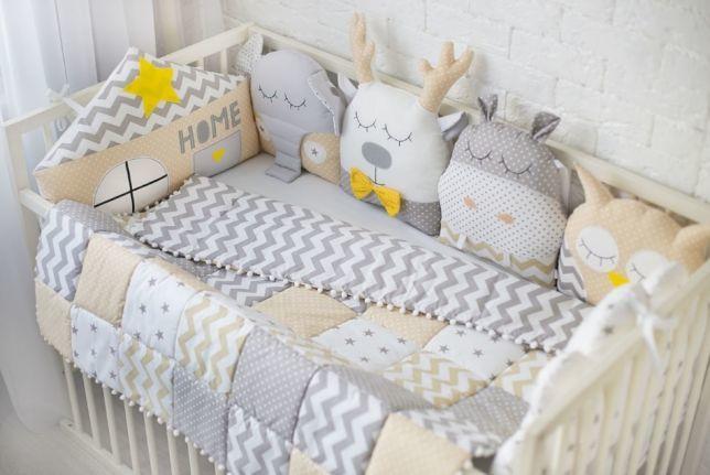 Современная кровать младенца