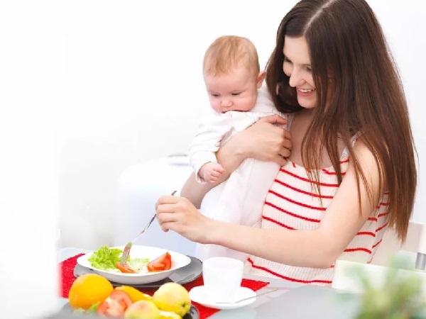 Правильное питание мамы – основа здоровья малыша