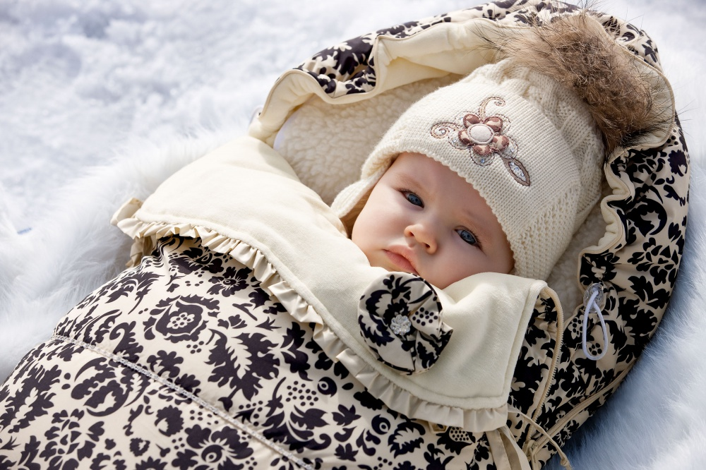 Зимний конверт для новорожденного ребенка Как выбрать