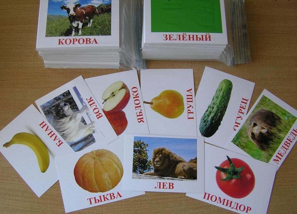 Популярное пособие – карточки Домана