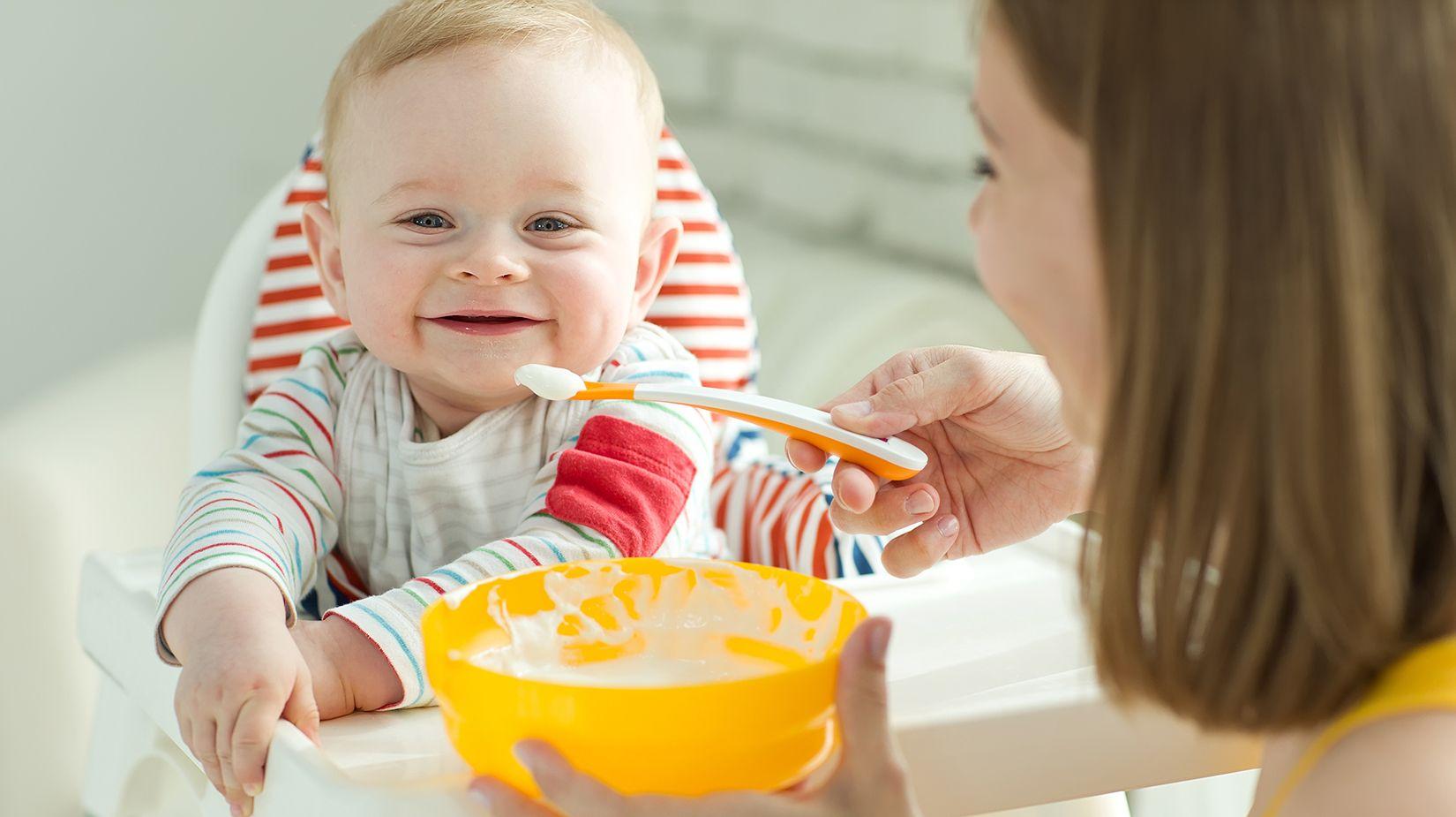 Важная составляющая прикорма – присутствие в рационе каши