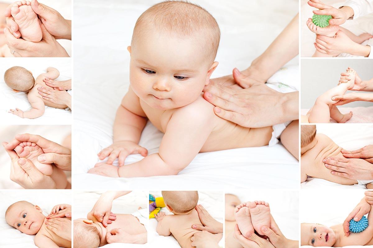 Комплекс упражнений для выполнения массажа