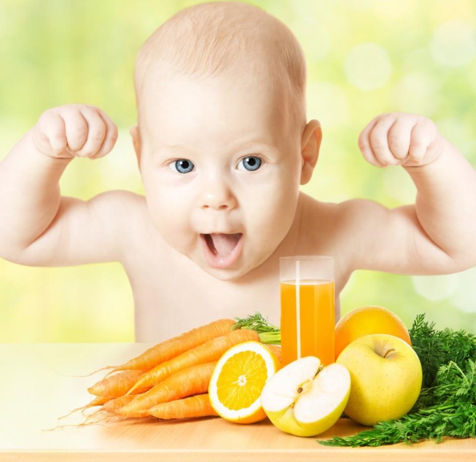 Обязательное условие здоровья малыша – полезное меню