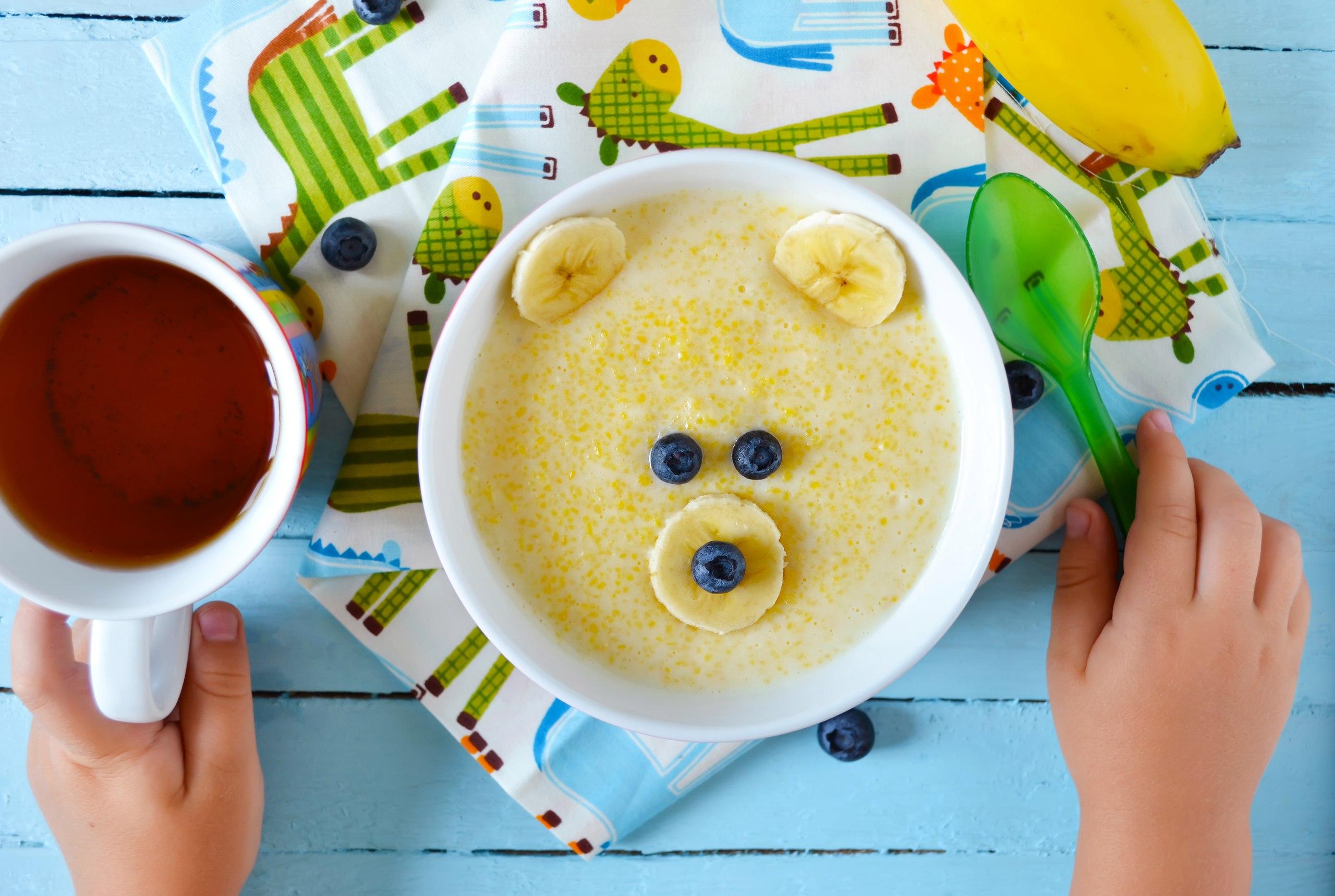Меню яркого и полезного завтрака – каша