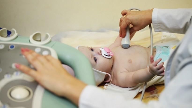 УЗИ внутренних органов младенца
