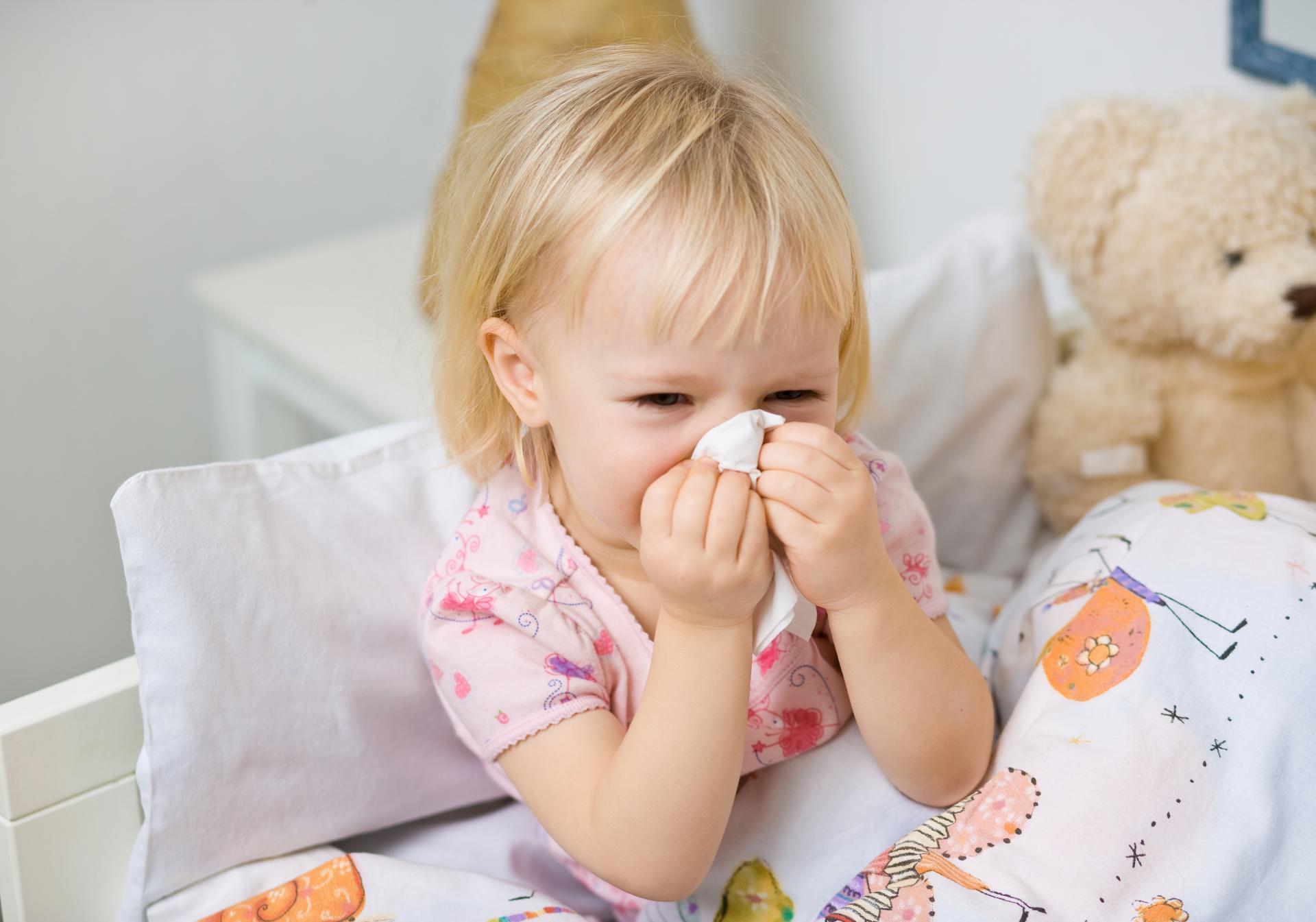 Как проходит ОРВИ у ребенка