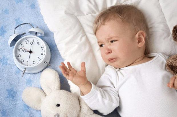 Эпизоды пробуждения и плач малыша