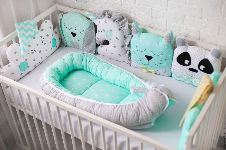 Бортики в кровать для младенцев