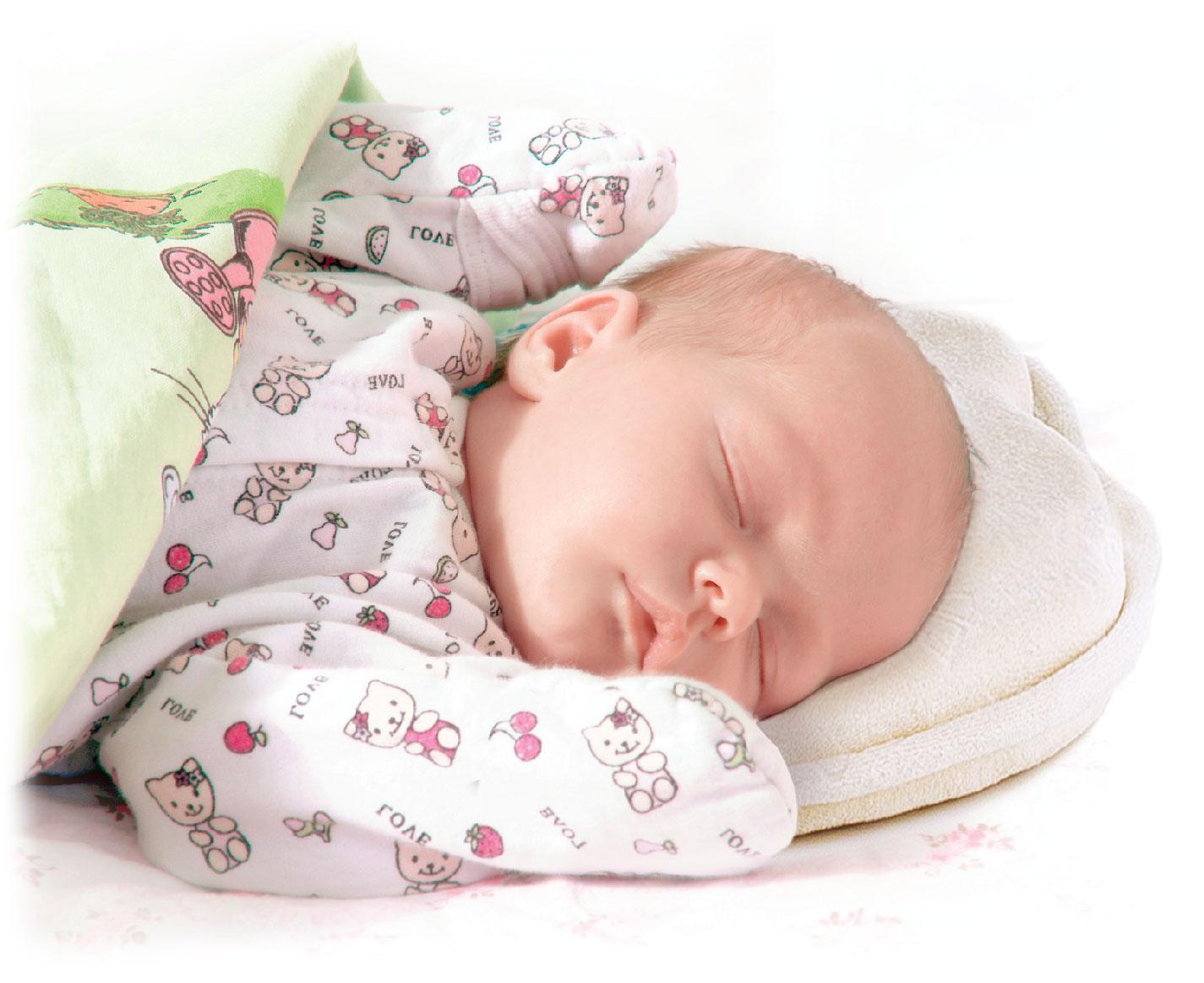 Крепкий сон младенца