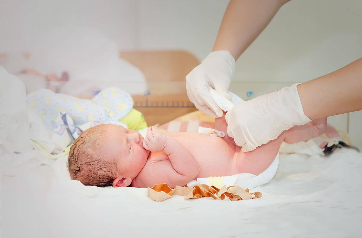 Даже только родившемуся малышу важны режим и полноценный уход