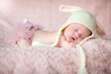 Малыш 1 месяц спит