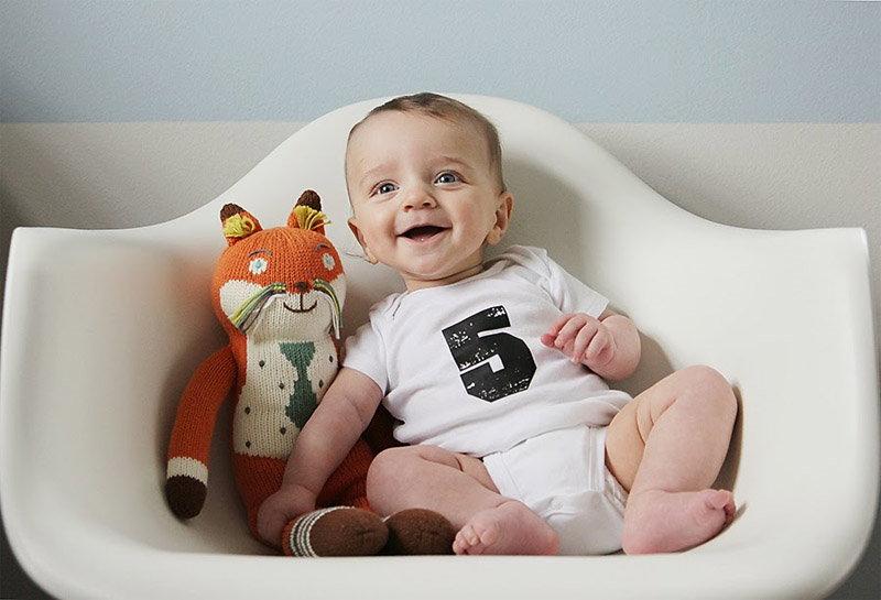 Распорядок дня ребенка в 5 месяцев
