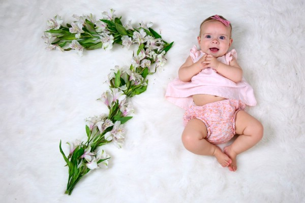 Девочке 7 месяцев