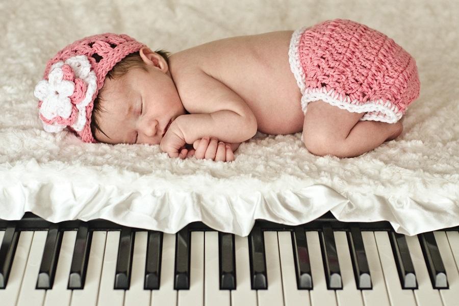 Спокойная мелодия поможет ребенку скорее уснуть