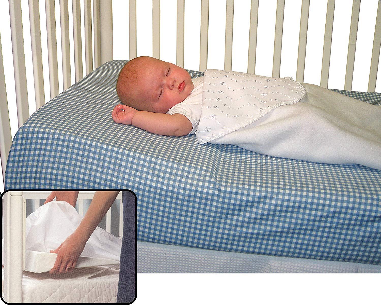 Регулирование наклона у изголовья в детской кроватке
