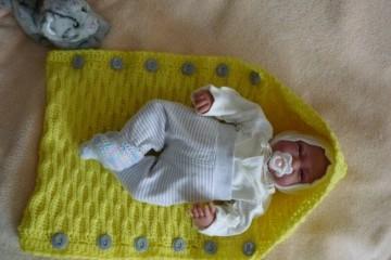 Младенец с соской