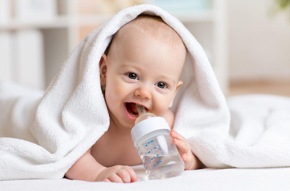 Бутылочка должна быть удобной для ребенка в первую очередь