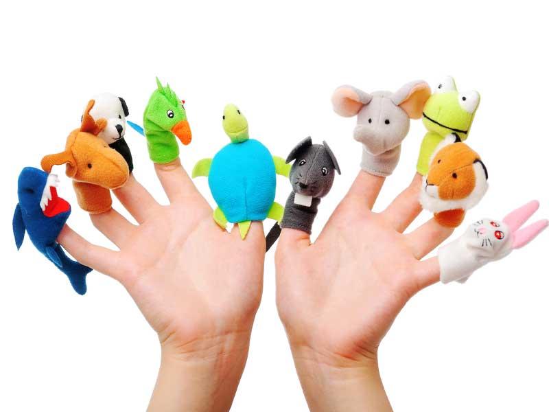 Игрушки для пальчиковых игр