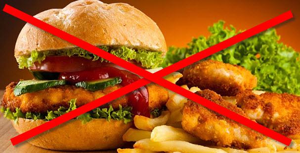 От жареной пищи кормящей маме надо отказаться