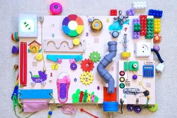 Все дети любят развивающие игрушки