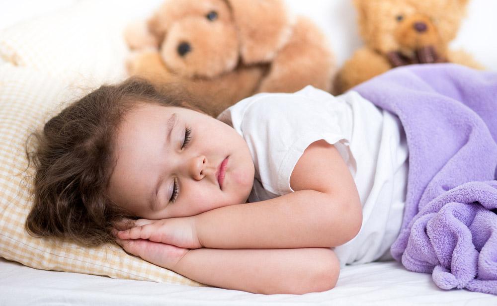 Хороший сон легко достигается без сосания или пустышки
