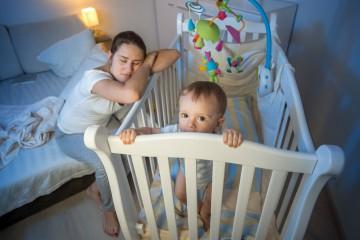 Младенец спутал ночь и день