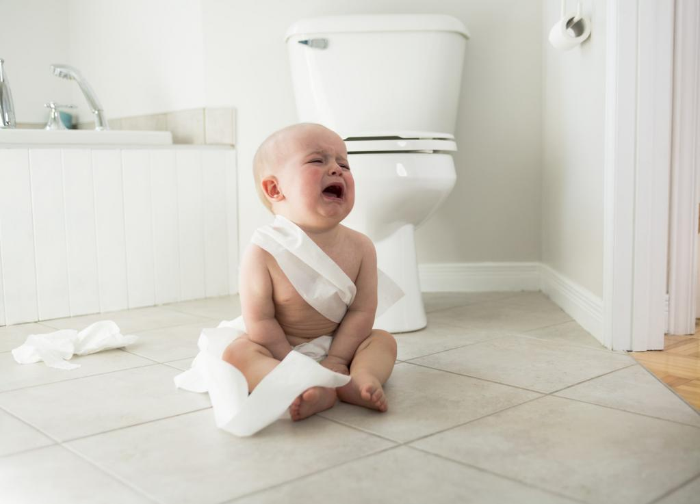 Расстройство стула у детей – частое явление