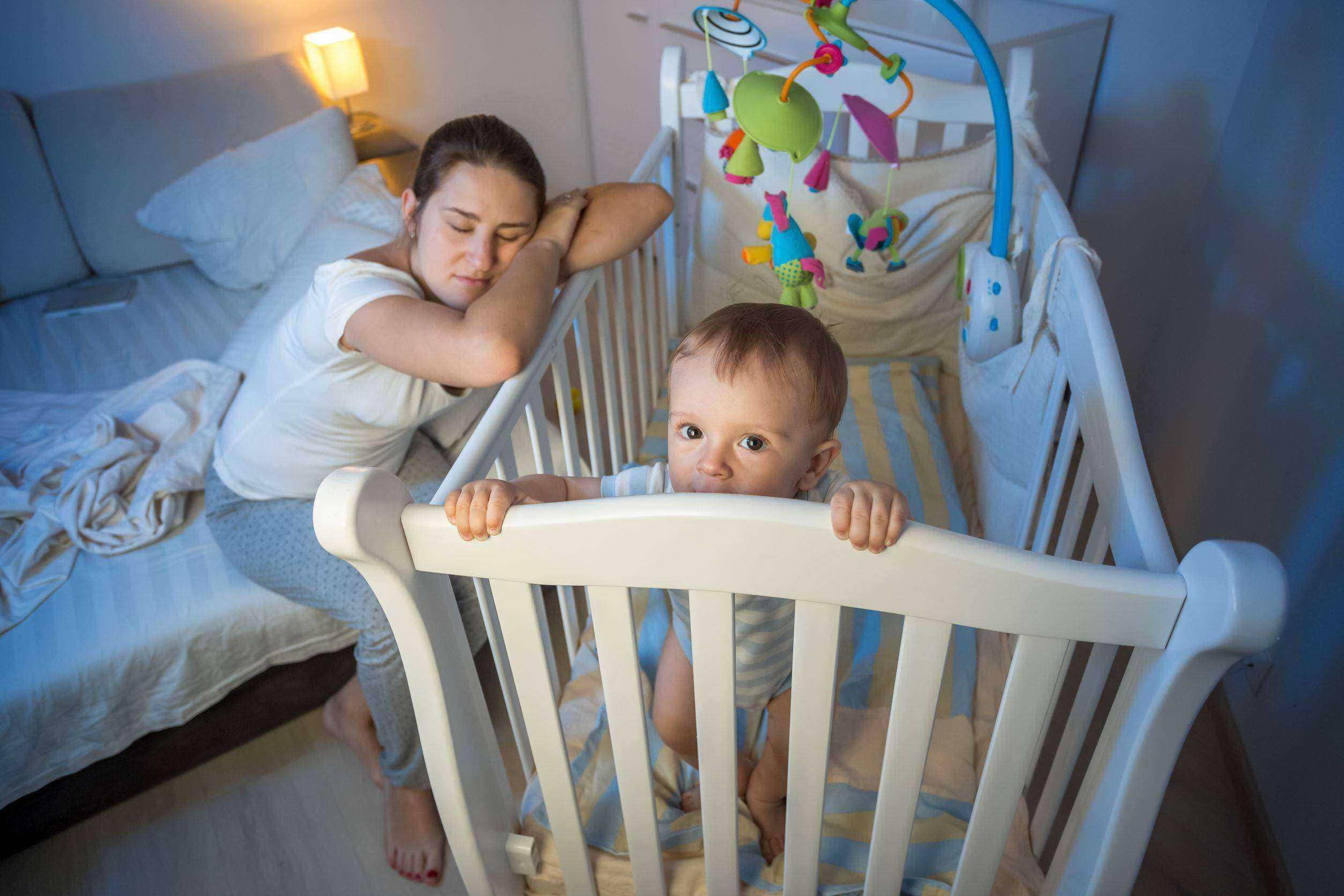 У ребенка сбился режим сна