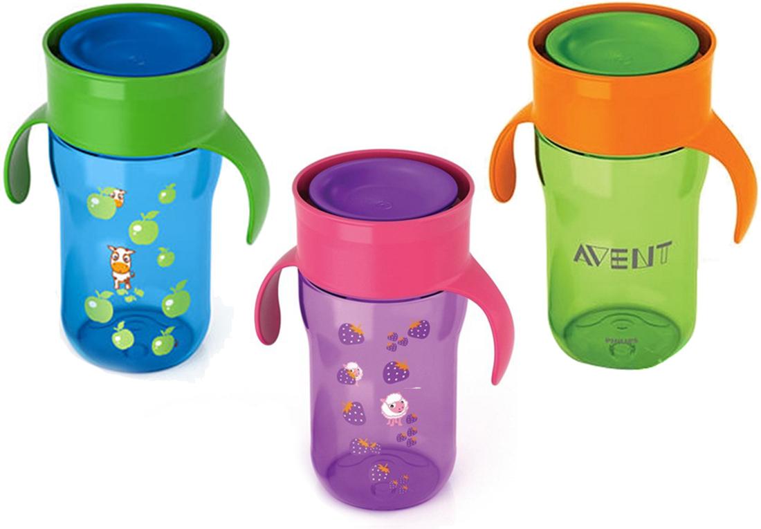 Чашки-непроливайки от Авент