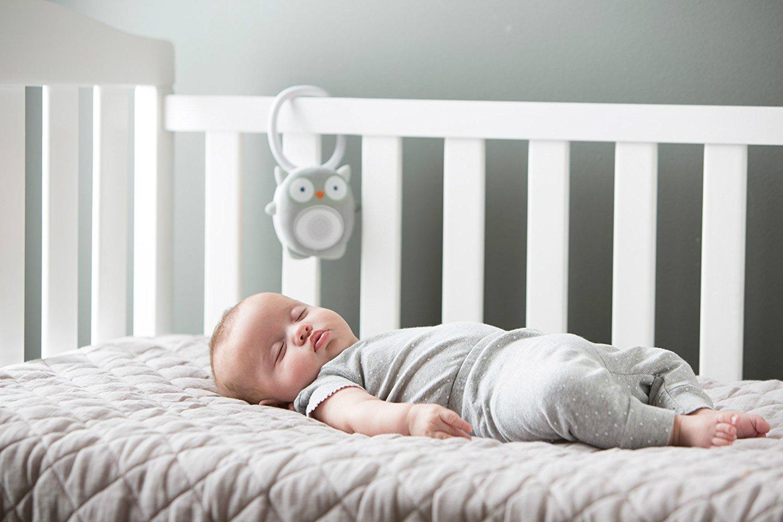 Прослушивание «белого шума» помогает грудничку спать крепко и спокойно