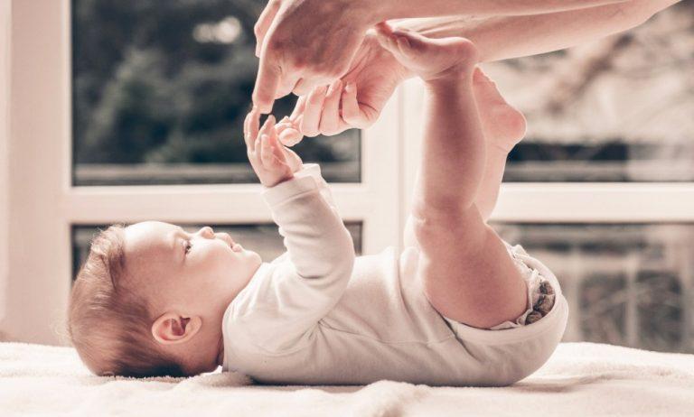 Игры и занятия с грудничком