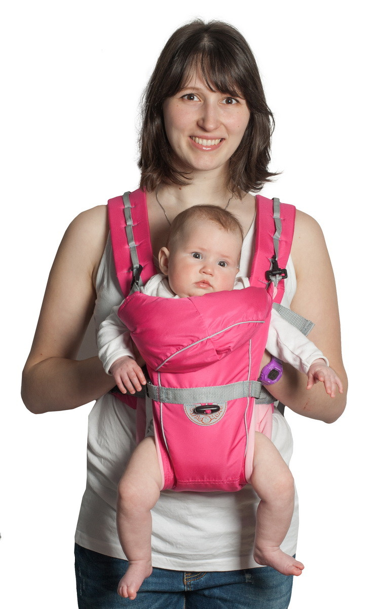 Пример рюкзака для трехмесячных