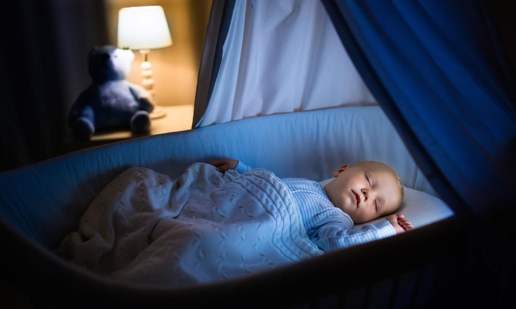 Приглушенный свет для благоприятного сна важен