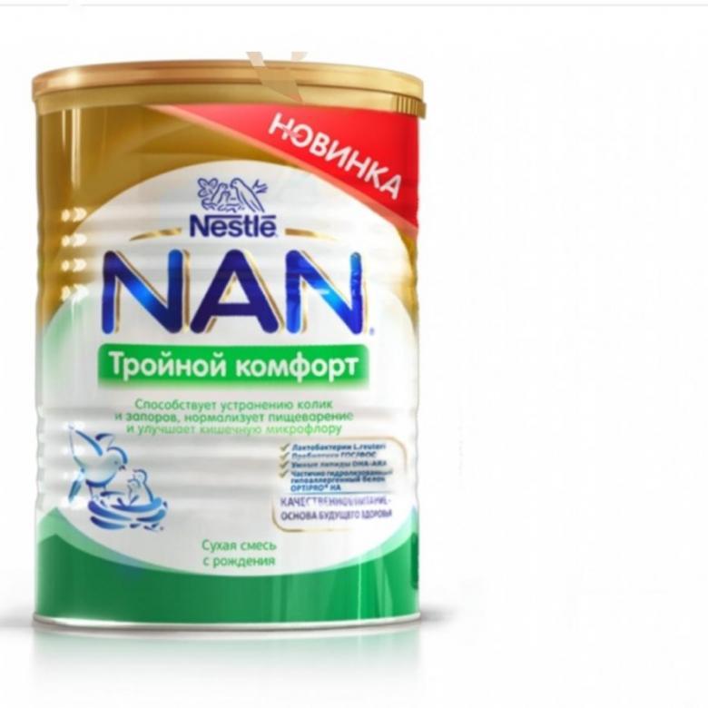 Смесь «Nan» от колик и запоров