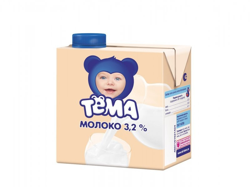 Детское молоко для приготовления каши