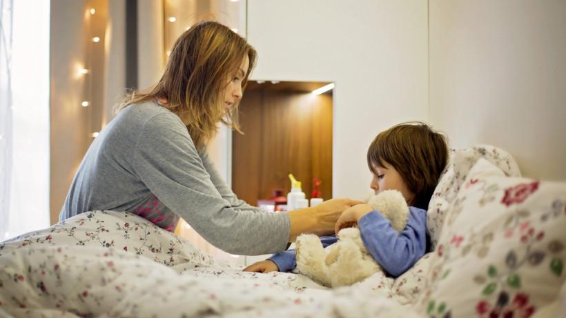 Перед приходом врача мама должна оказать посильную помощь ребенку