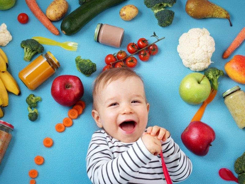 В меню 8 месячного ребенка должны входить блюда из разнообразных продуктов