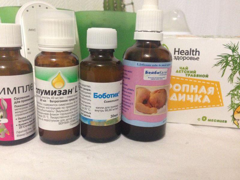 Препараты от колик