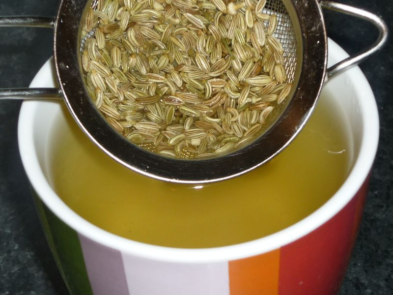 Приготовление отвара из семян фенхеля