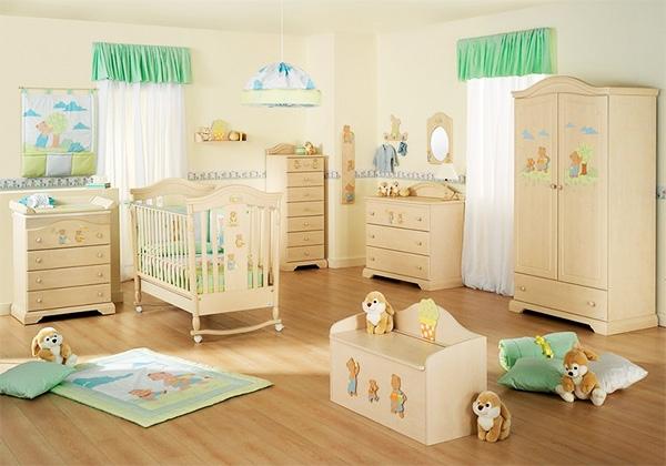 Украшение детской комнаты не требует излишеств