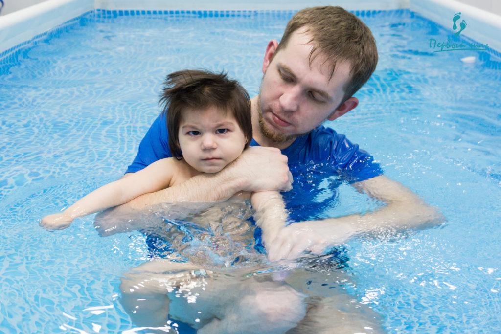 Плавание показано малышам с ДЦП