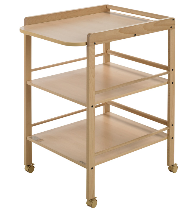Пеленальный столик – важный предмет мебели для детской