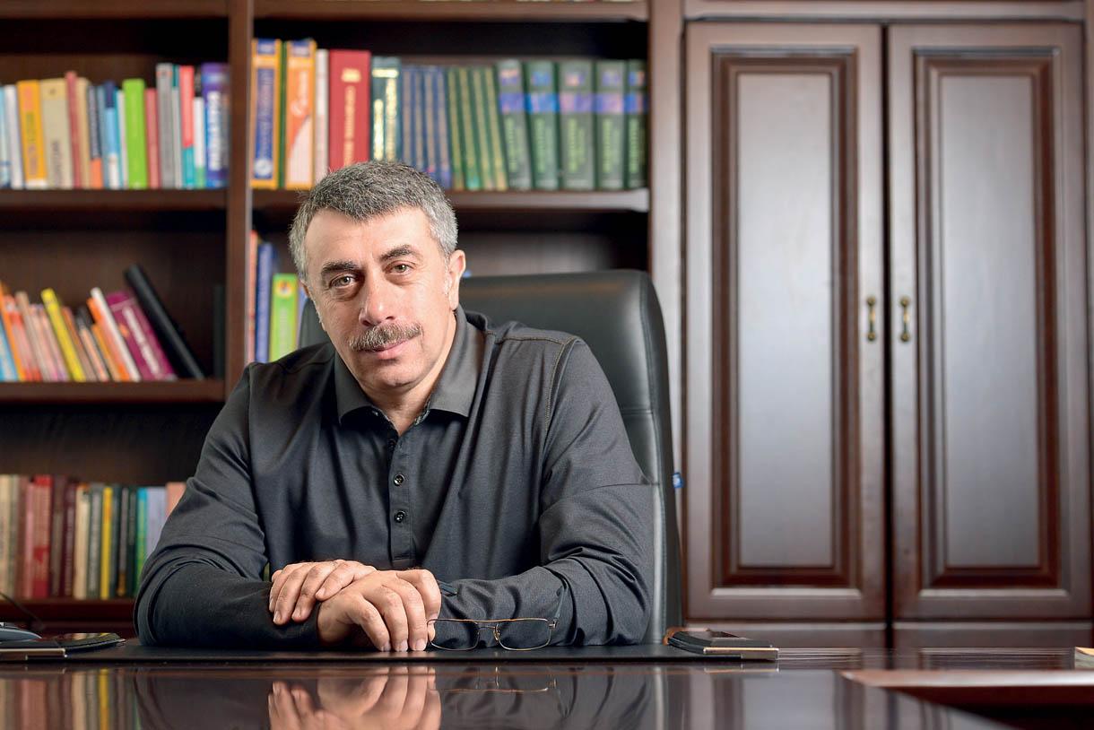 Педиатр Комаровский