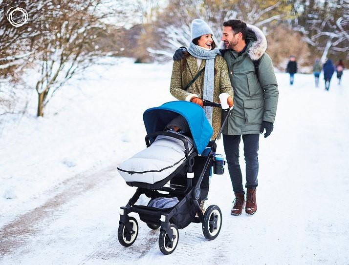 Для прогулок с младенцем лучше выбирать парк с чистым воздухом