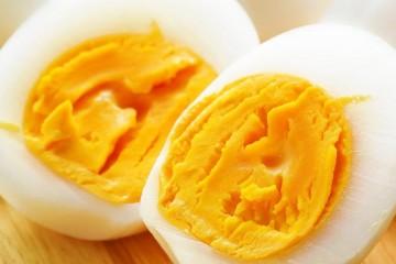Яйцо в разрезе